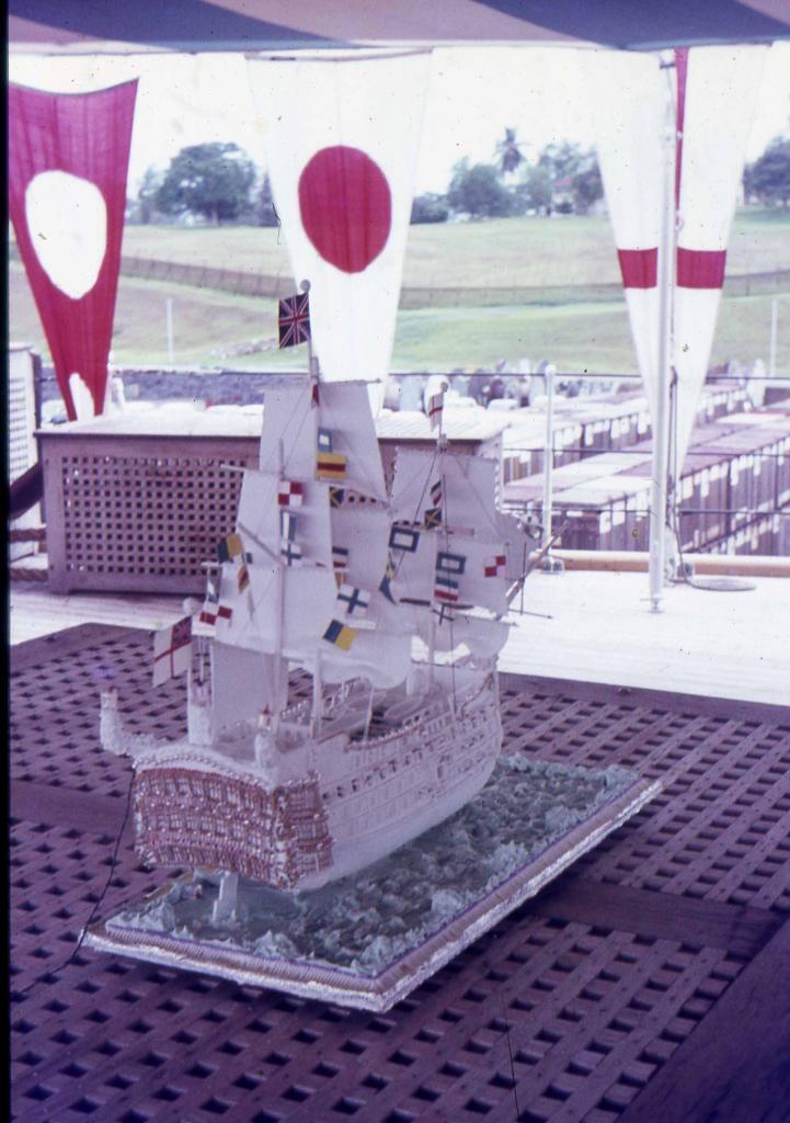 HMS Forth Trafalgar day 1970
