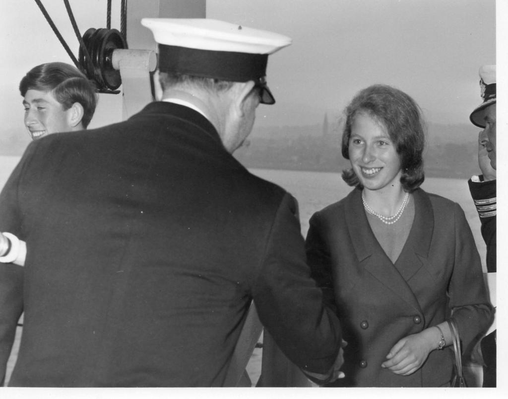 Charles & Anne onboard Centaur 1966