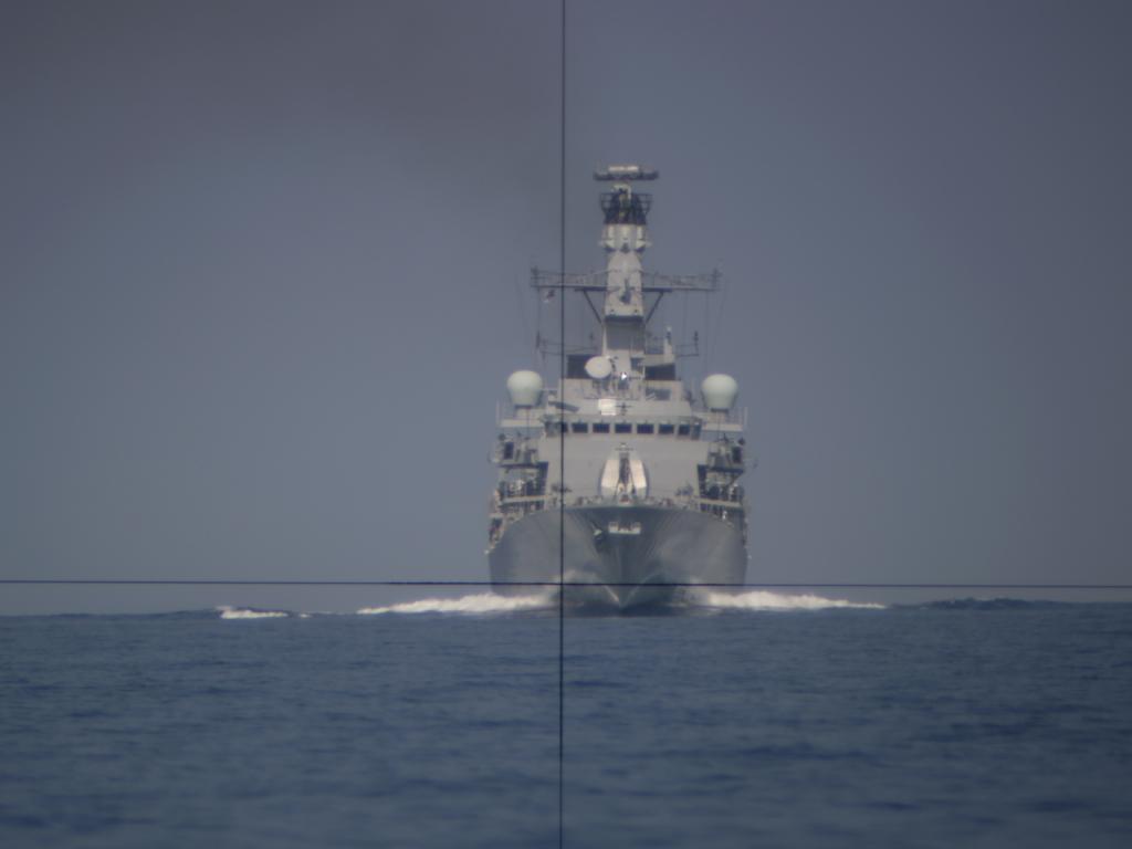 frigate charging