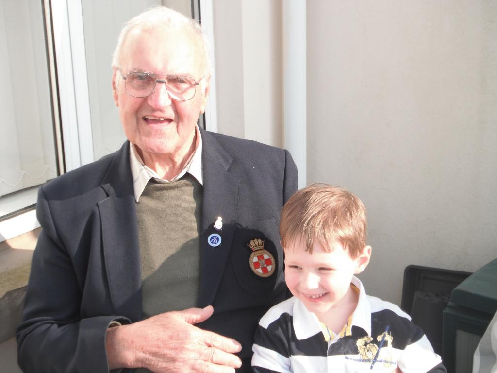 Great Uncle in-law Eric Noel and The Strimmer