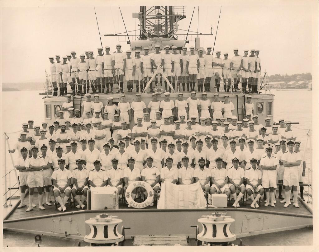 ships company hms ulysses 1957/58