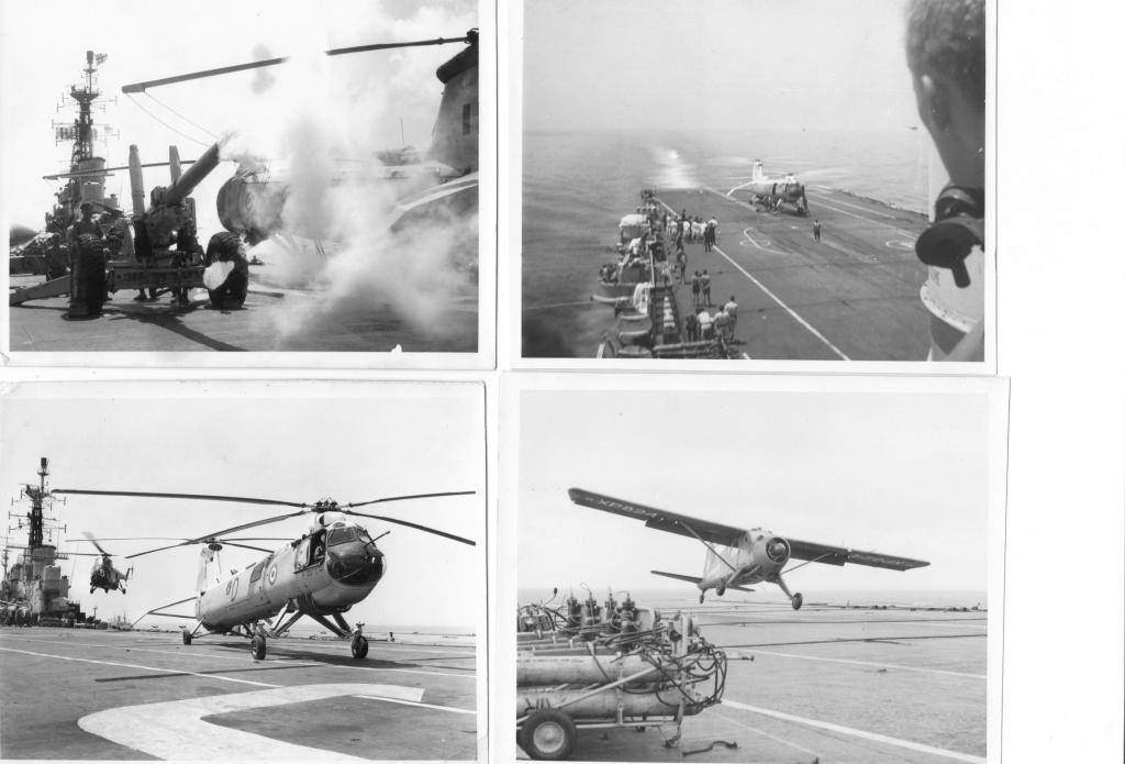 Army using flight deck