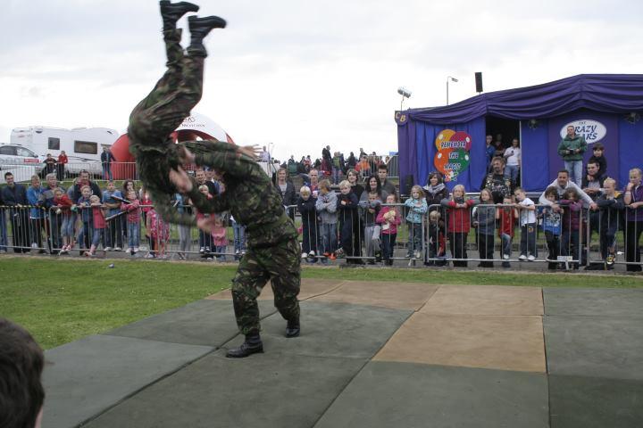Royal Marines Reserve City of Belfast Display Team