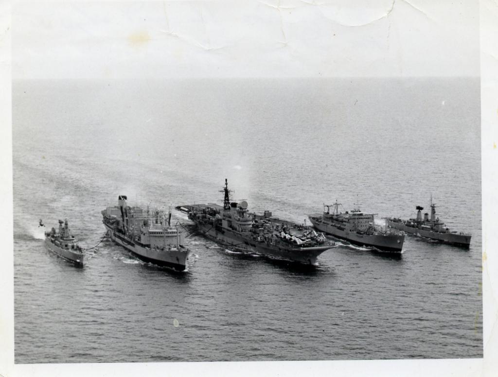 first 5 Ship RAS