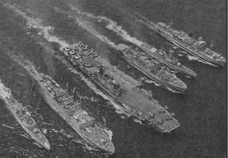 First 6 ship RAS.