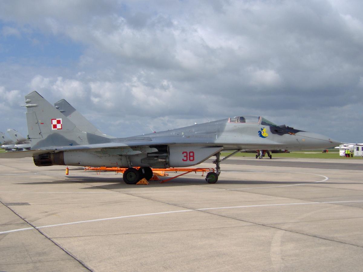Polish Air Force, a very naughty boy.