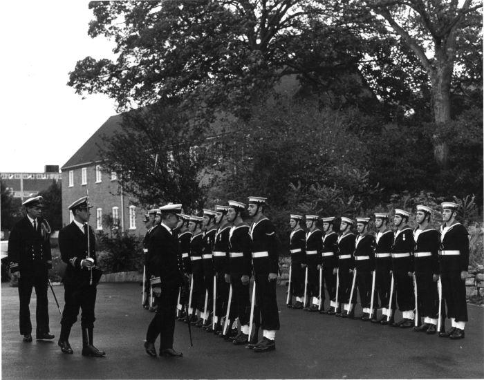 Flag Officer portsmouth Guard 1985