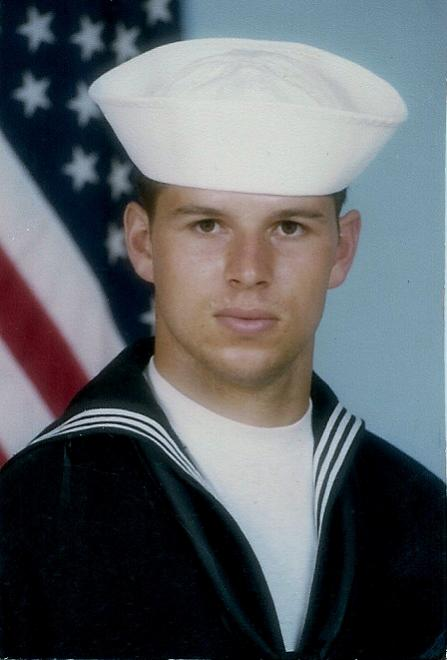 Scott Navy Basic Training picture 1982