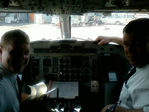 Scott and Alex Cummings CRW SAAB 340