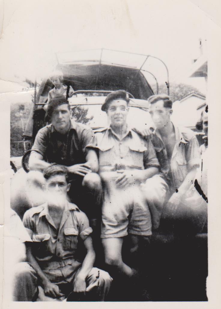 Don Green (far right)