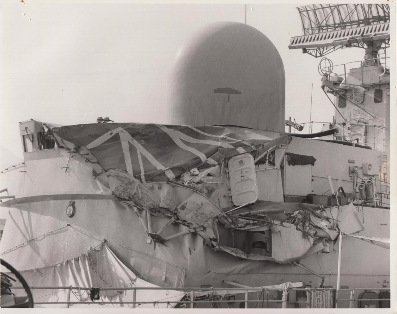 HMS Southampton - Ouchie