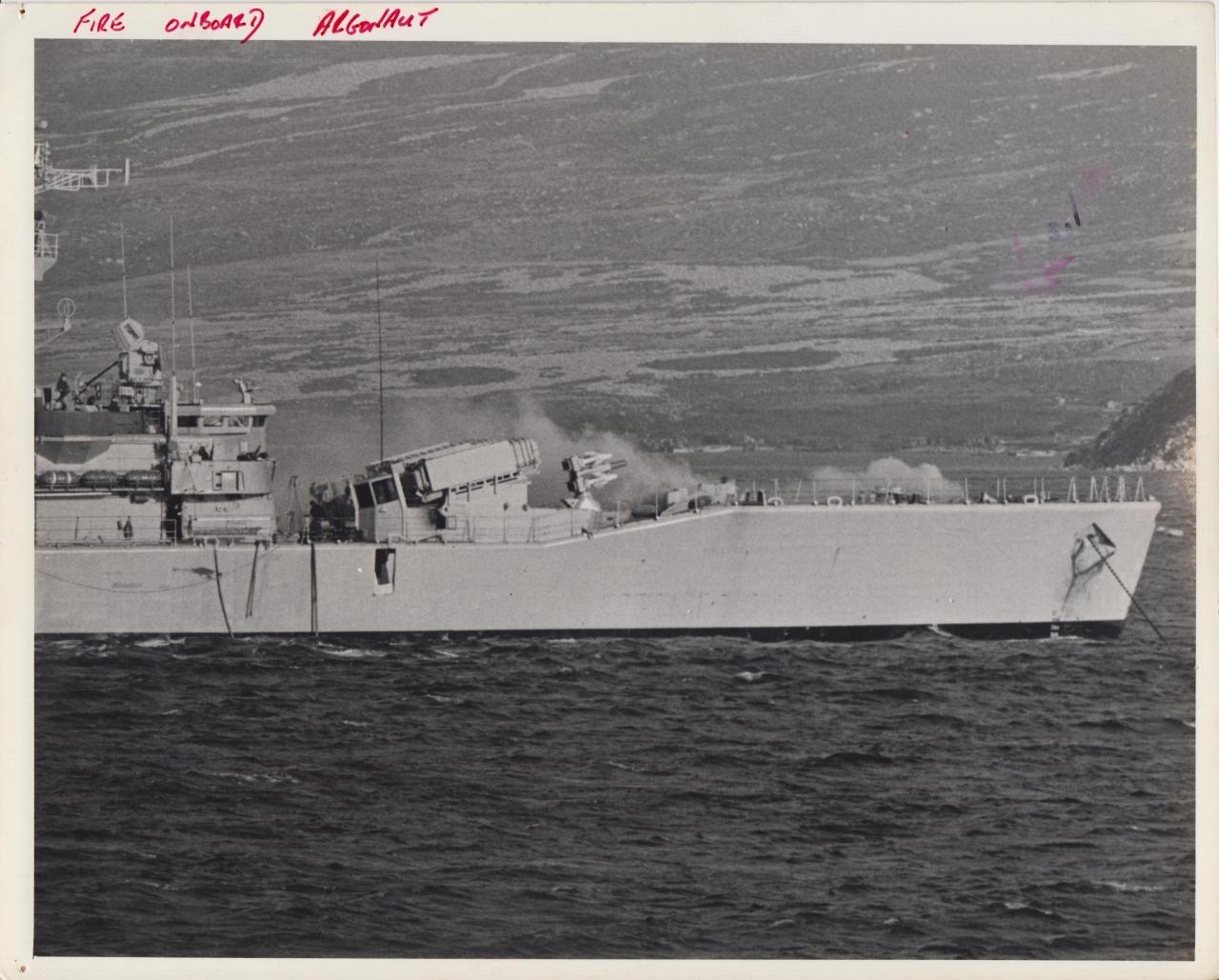 HMS Argonaut 1982