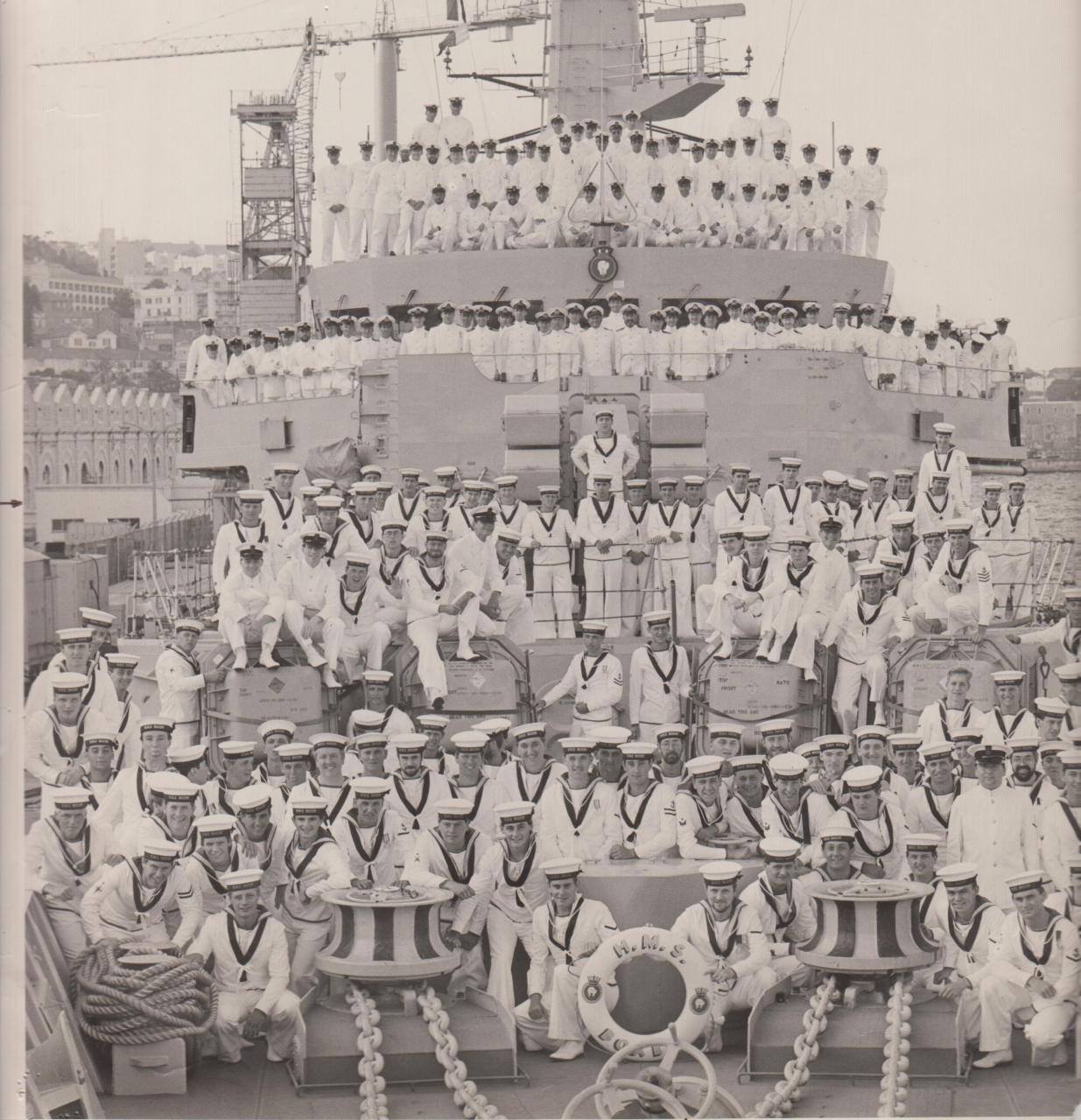 HMS Boxer - Gib