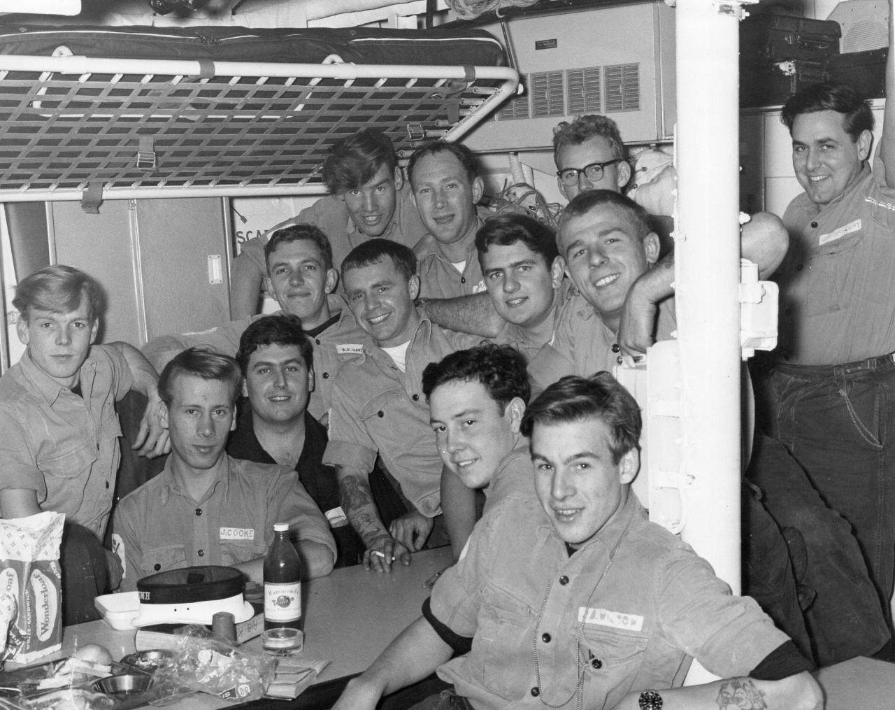 2 Mess HMS Jaguar 1968