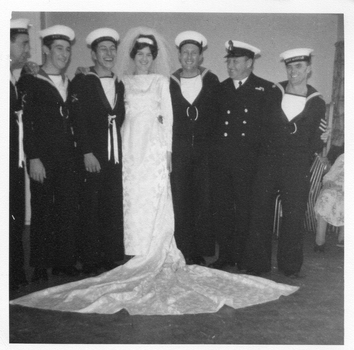 """""""Pusser"""" Hill's Wedding 1968"""