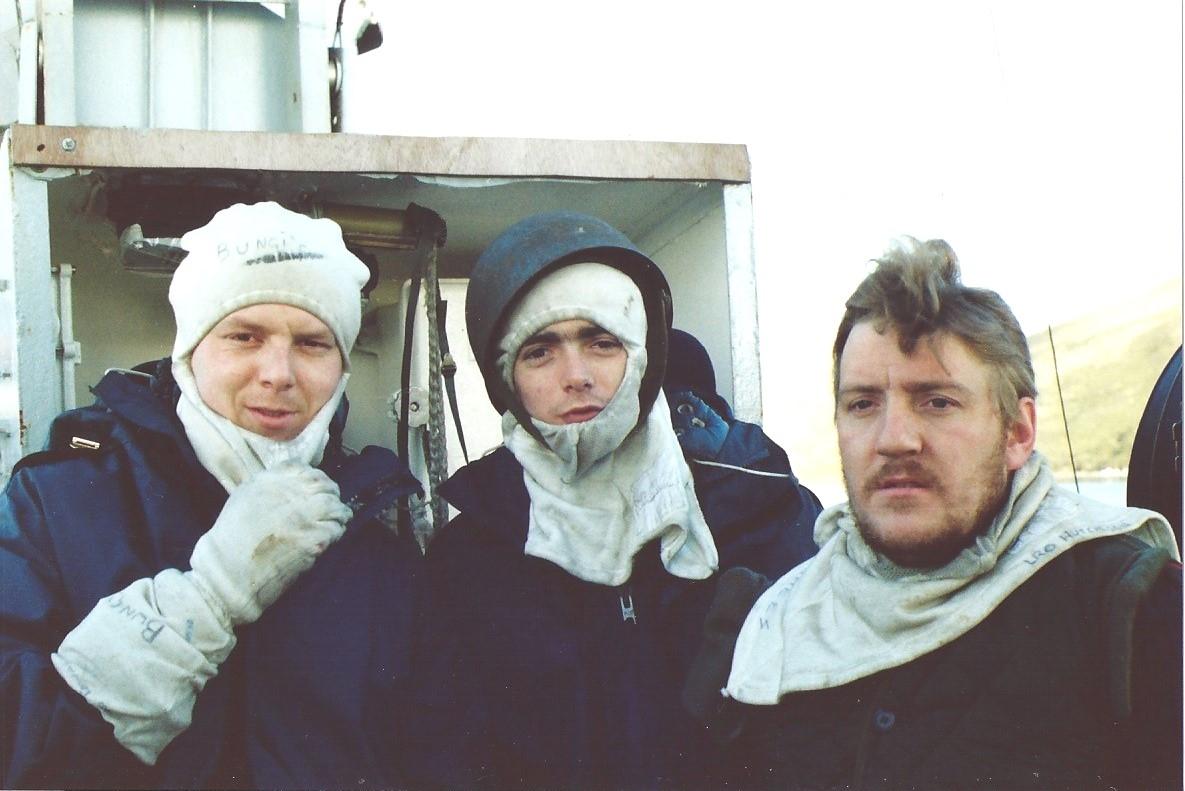 Flag Deck - Plymouth 1982