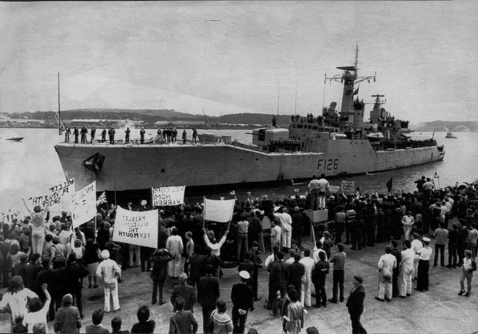 H.M.S. Plymouth - 1982