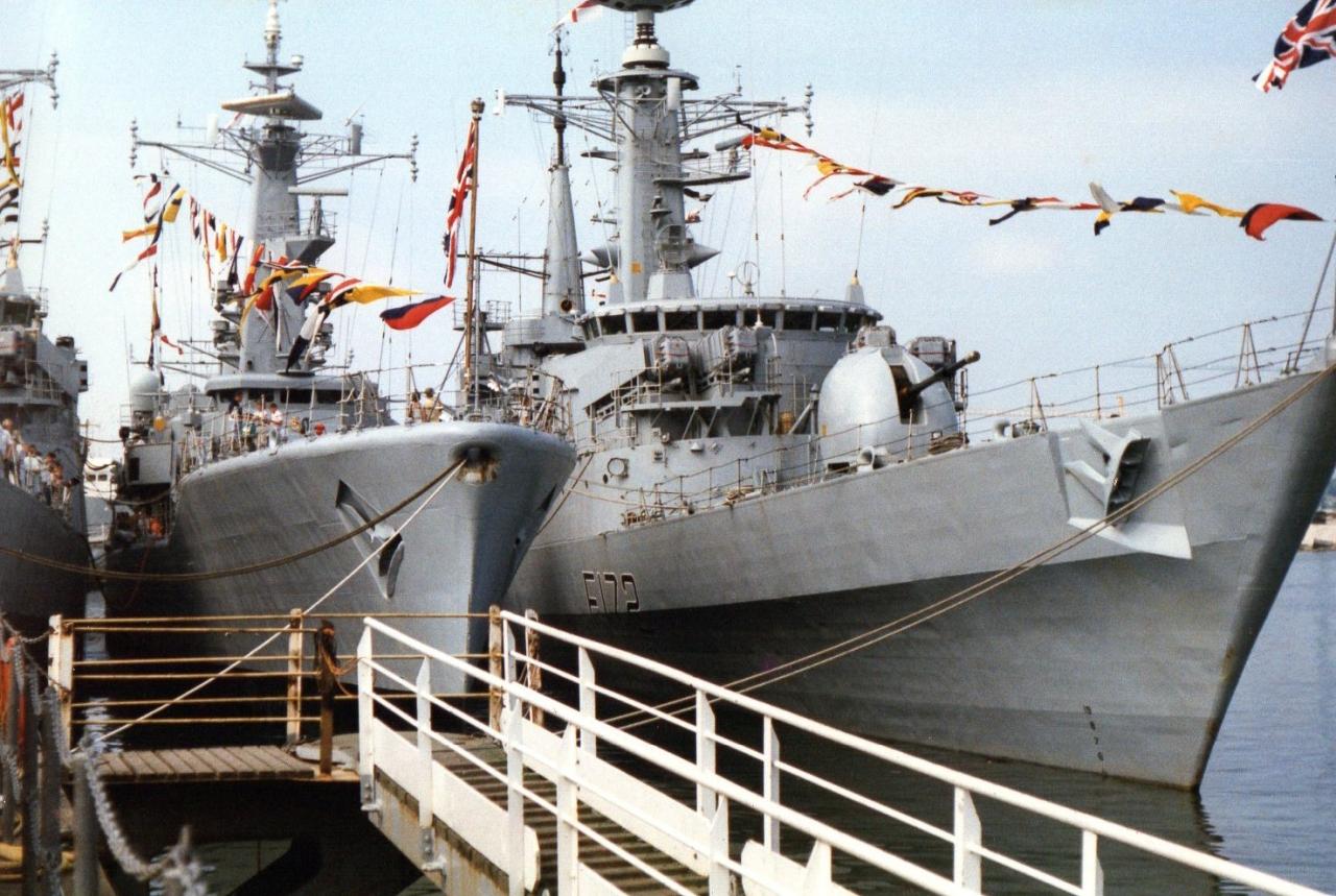 HM ships Argonaut and Ambuscade