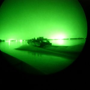 Royal Navy Training Team Night Patrol Op Telic 4