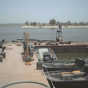 RNTT jetty, Basra Palace