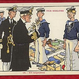 Our Sailors - Kit Inspection