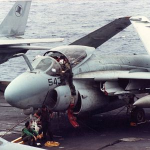 A-6E Intruder, USS Kennedy