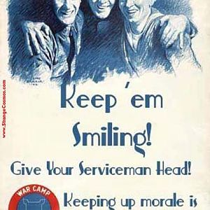 Girls - Keep Us Sailors Smiling