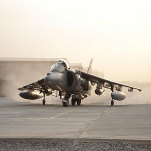 Joint Force Harrier Scramble in Afghanistan