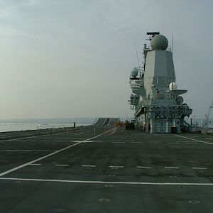 Ark Royal Flight Deck