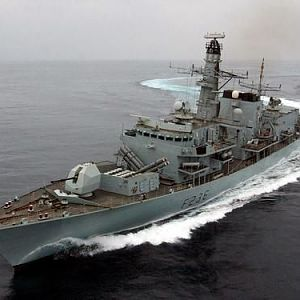 HMS Montrose, my 2nd ship!