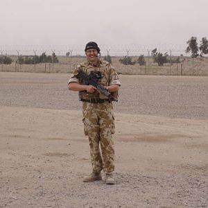 Doing my bit in basrah April 07