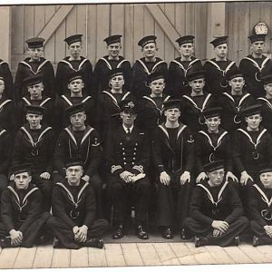 Intake of 1938 HMS Vincent