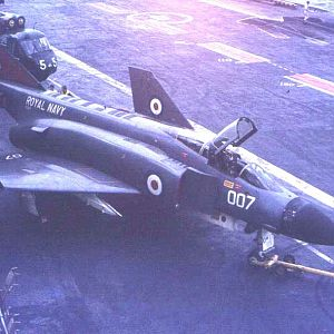 Ark Royal 1970 Phantom