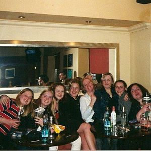 HMS CAmpbeltown's ladies in PR's - 2001