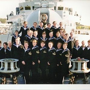 HMS Campbeltown's wrens mess 2001