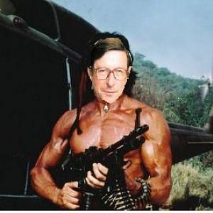 Max Hastings as Rambo