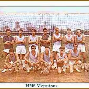 Hms Victorious Seamans football team Fes 1964-65