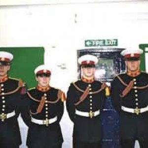 Buglers of Troop 1/00 RMSM