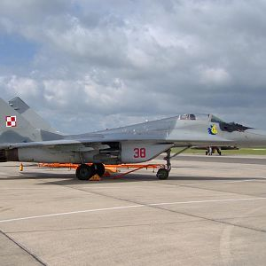 Polish Air Force, a very naughty boy.