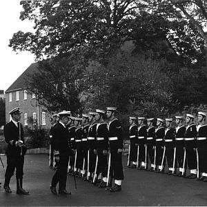 Flag Officer portsmouth Guard 1985