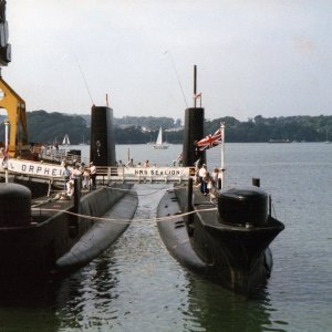 HM Submarines Orpheus and Sealion