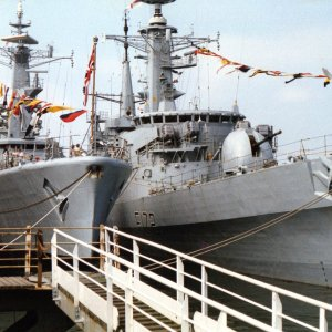 HM ships Argonaut and Ambuscade