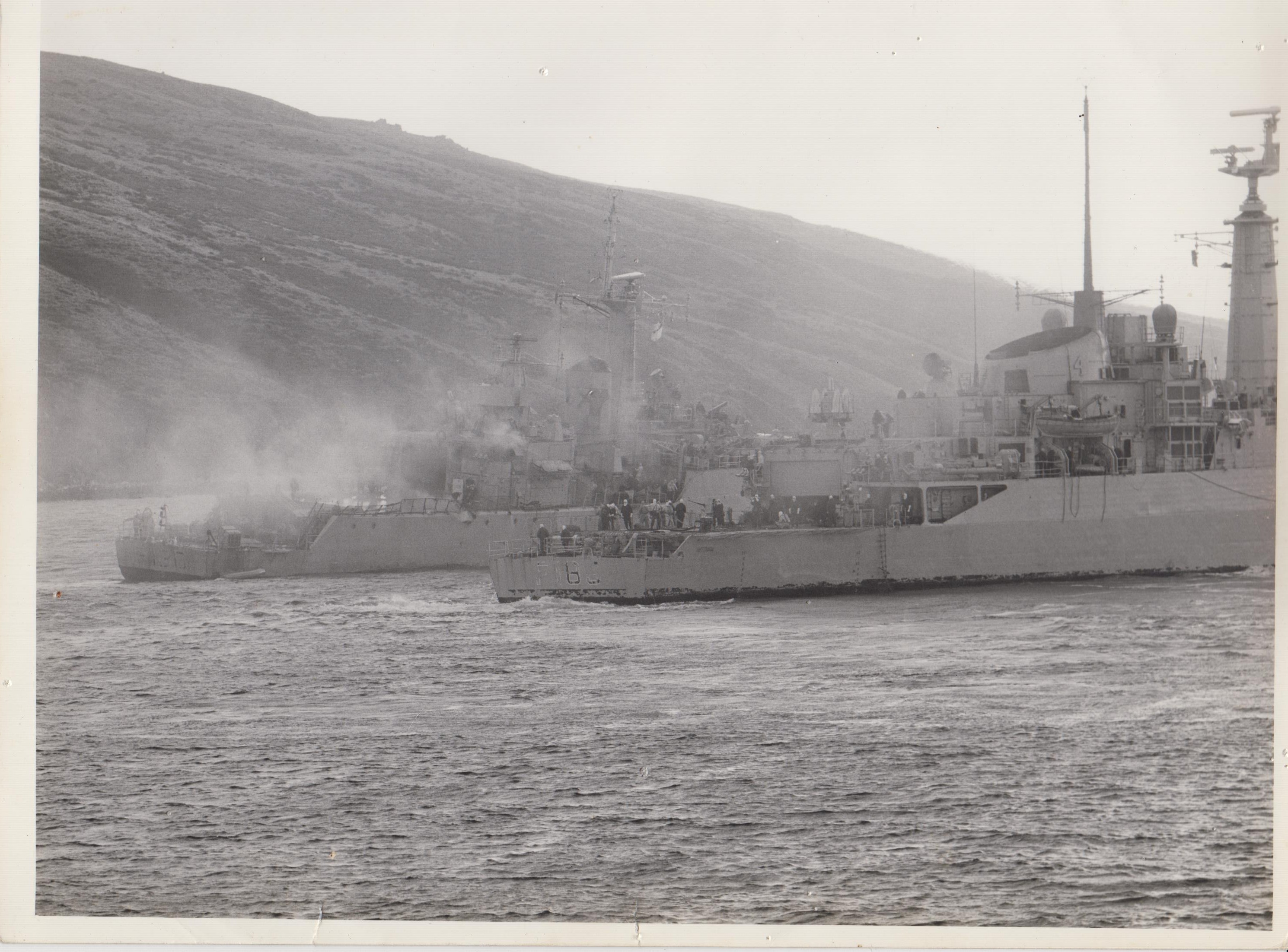 HMS Plymouth - Bomb Alley