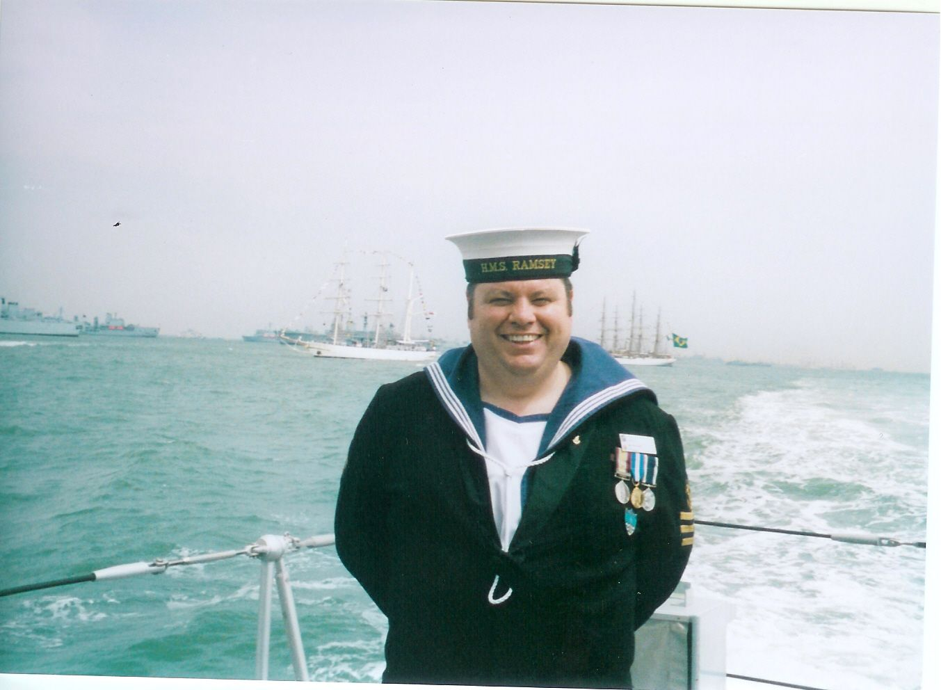 On the Ramsey during the IFR in June 2005