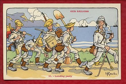 Our Sailors - Landing party
