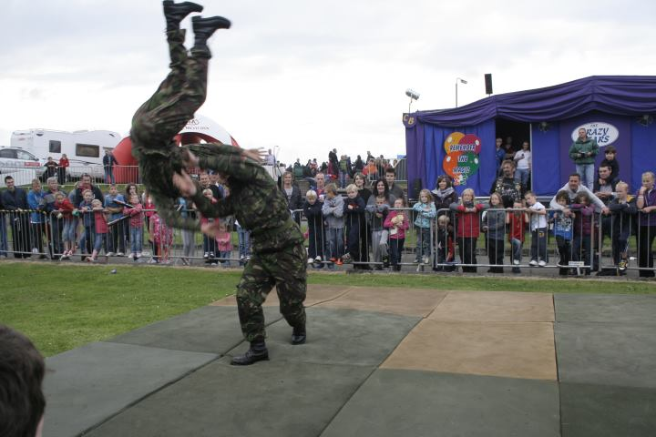 Royal Marines Reserve City of Belfast Display Team