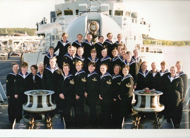 Wrns Mess - HMS Campbeltown - 2001